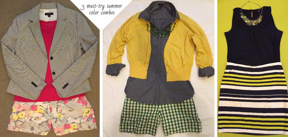 3 must try summer color combos via www.practicallystyli.sh